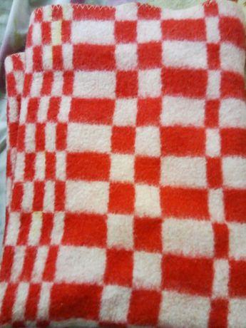 Детское шерстяное одеяльце