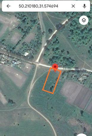 Продам земельну ділянку під забудову 0,25га