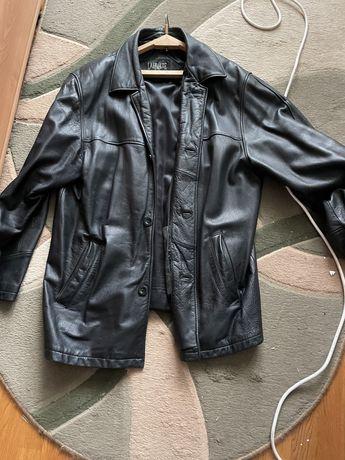 Кожанная куртка большой размер
