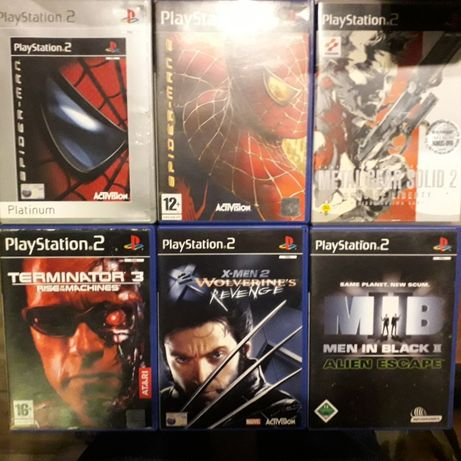 Ciekawe unikatowe oryginalne gry na konsolę Sony PS2 Playstation 2