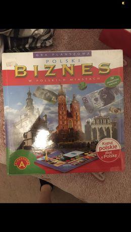 Nowa zafoliowana gra planszowa monopoly alexander biznes planszówka