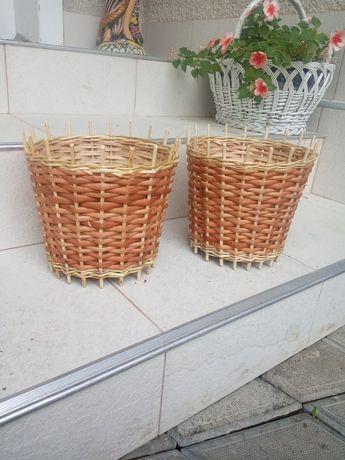 Корзины с лозы кошики для квітів подарунків мила букетів з лози букето