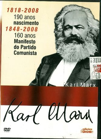 DVD Karl Marx e o Manifesto do Partido Comunista