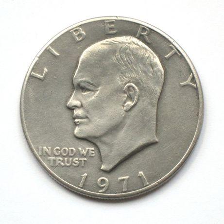 1 Доллар Эйзенхауэр 1971.