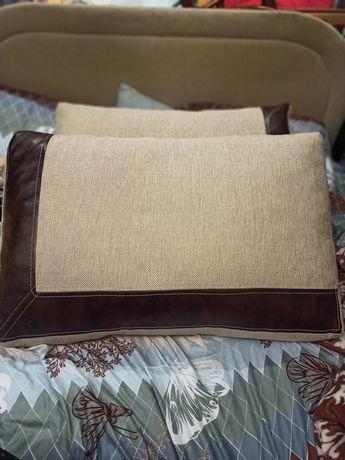 Подушки декоративные, подушка большая 2 шт