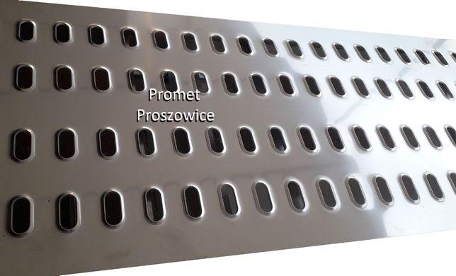 Blacha LOHR Aluminiowa 2m lub 2,5m / 50cm / 4mm - Laweta Przyczepa