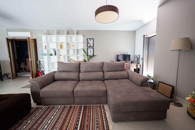 Sofá cama c/ chaise long Benson