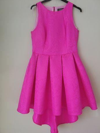 Sukienka różowa s