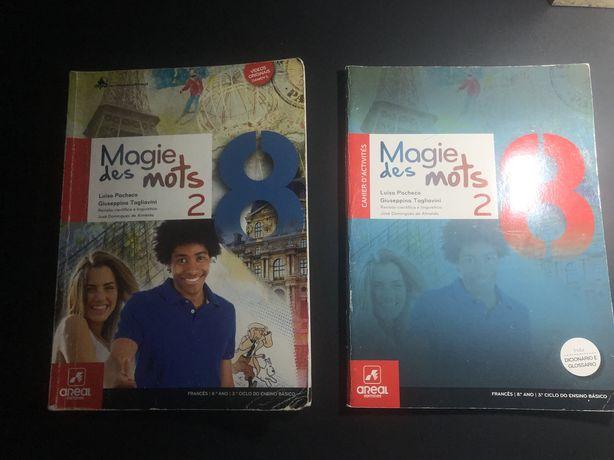 Livros escolares 8 ano Frances
