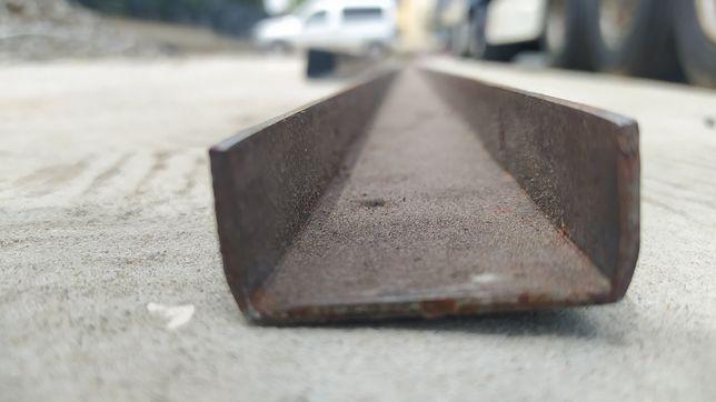 Profil ceownik z/g 20x40x2 mm sztanga 6m 1gat.