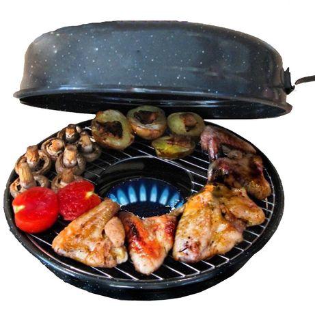 КАЧЕСТВО Сковорода для гриля Гриль-газ барбекю на дому без дыма и жира