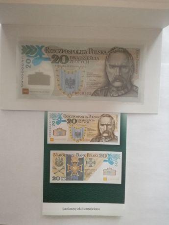 Banknot kolekcjonerski 20zł Legiony Polskie
