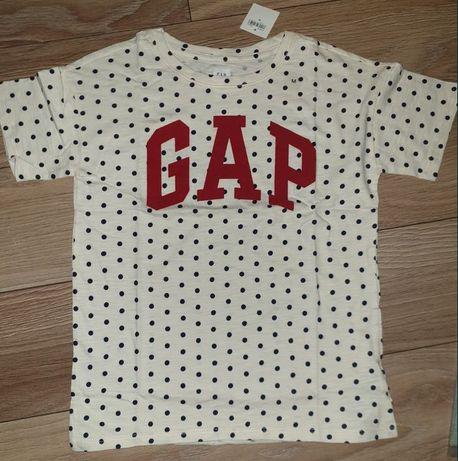 Bluzka, koszulka, t-shirt GAP 128/134