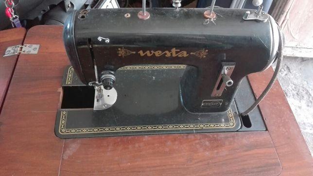 Stara maszyna westa do szcycia