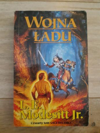 Książka L.E. Modesitt Jr. Wojna ładu