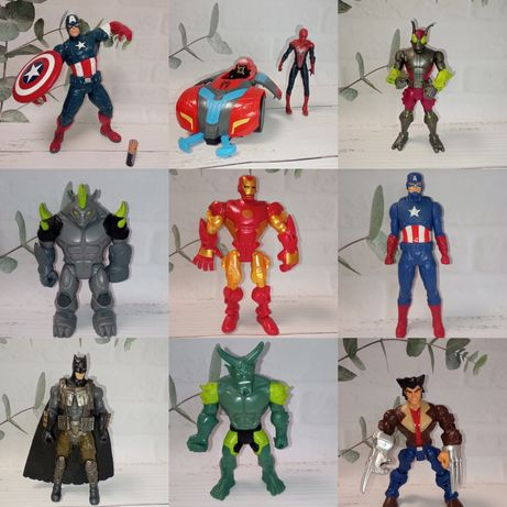 Marvel Марвел фигурки DC Comics Бетмен Росомаха  Веном