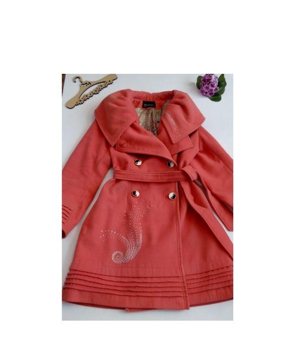 Розовое пальто теплое 48 размер крутое Полтава - изображение 1