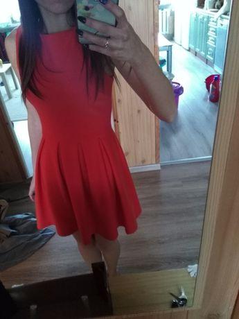 Sukienka damska rozkloszowana