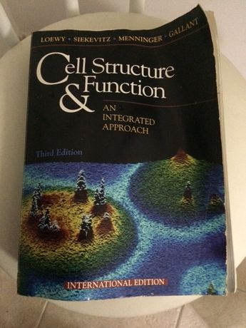 "Livro em ingles ""Cell Structure"""