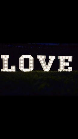 napis Love 100 cm sprzedam