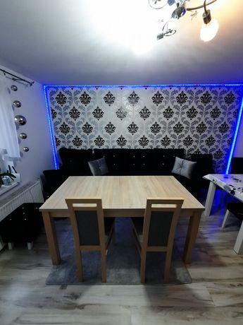 Stół z krzesłami do jadalni /salonu