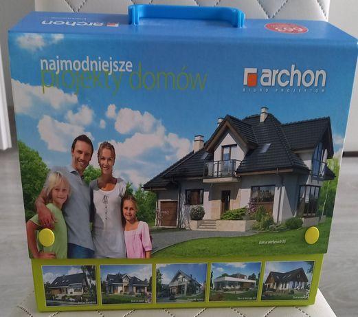 Projekt domu ARCHON  dom w werbenach n