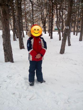 Зимний костюм на мальчика 5-7 лет LIBELLULE