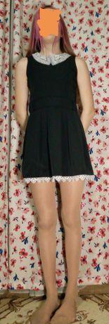 Подростковое школьное платье