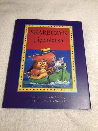 Książka z opowiadaniami dla 5 latków, sztywna okładka, stan bdb, A4