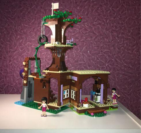 Лего Lego friend спортивный лагерь ; дом на дереве