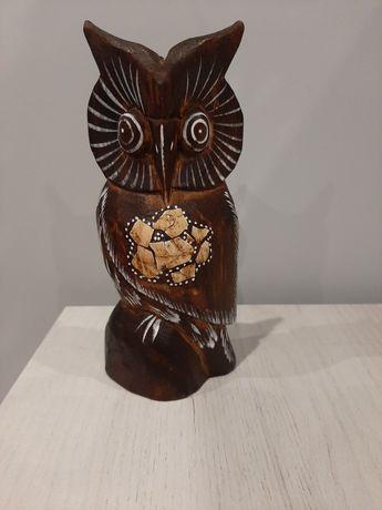 Figurka drewniana Sowa
