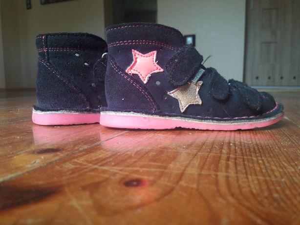 Danielki 23 sandały kapcie profilaktyczne gwarancja 15cm