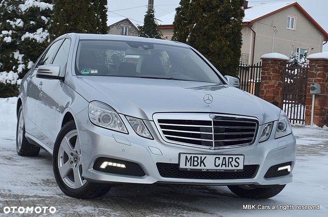 Mercedes-Benz Klasa E 184KM AVANTGARDE Bi xenon Navi Night Vision ACC Radar Pół skóra DE