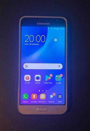 Samsung Galaxy J3 2016 J320 Dual Sim Złoty + etui
