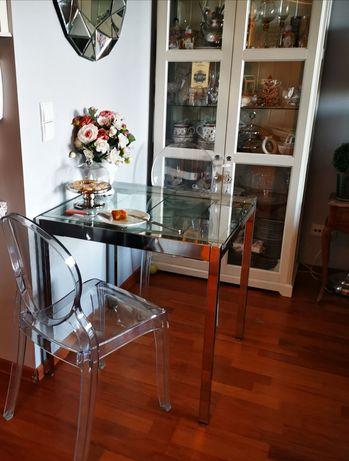 Stół szklany rozsuwany ikea