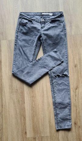 Spodnie rurki, jeansy DKNY r.28