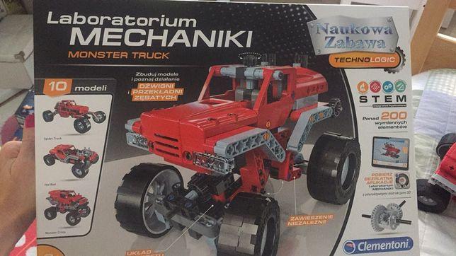 Laboratorium mechaniki Monster Truck auto klocki