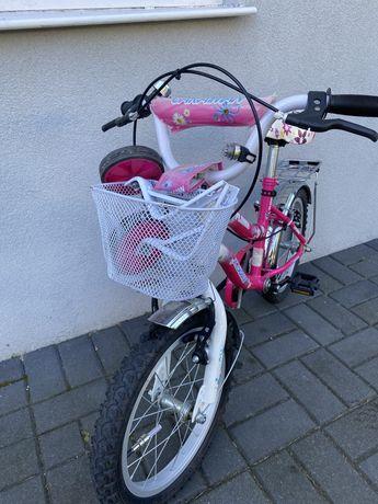 """Rower dzieciecy kola 16""""( dla dziewczynki)"""