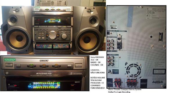 SONY RXD10AV - Aparelhagem (Aceito Trocas)