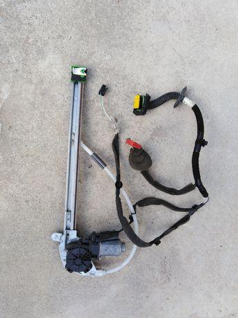 Mechanizm podnoszenia szyby prawy tył Renault Scenic 1 lift