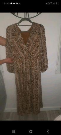 Sukienka wzor skóra węża
