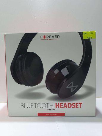 NOWE słuchawki nauszne BLUETOOTH FOREVER BHS-100 mikrofon