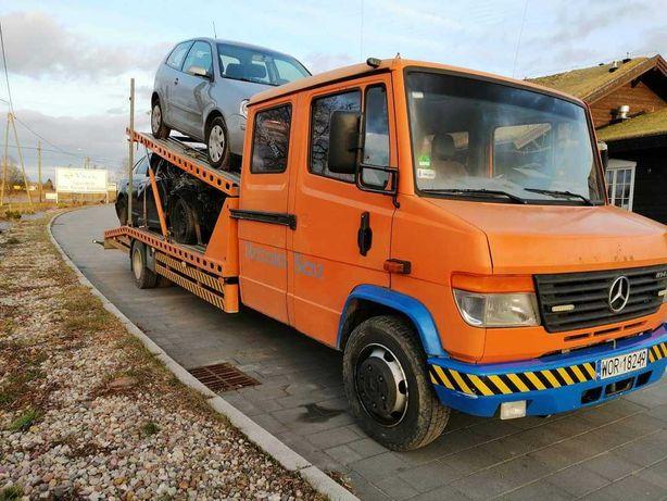 Autolaweta Mercedez-Benz Vario  4,2 D  00r  2-Auta Najazd