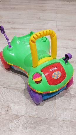 Samochód jeździk pchacz Play School do nauki chodzenia oraz jeżdżenia