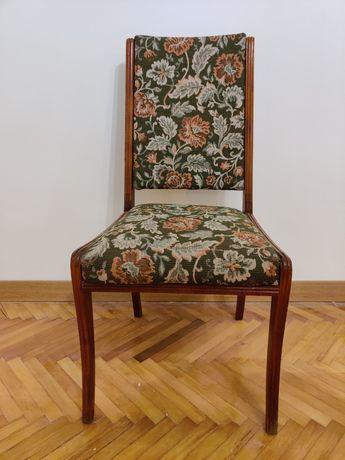 4 дерев'яні стільці з гобеленом (ціна за 4штуки)