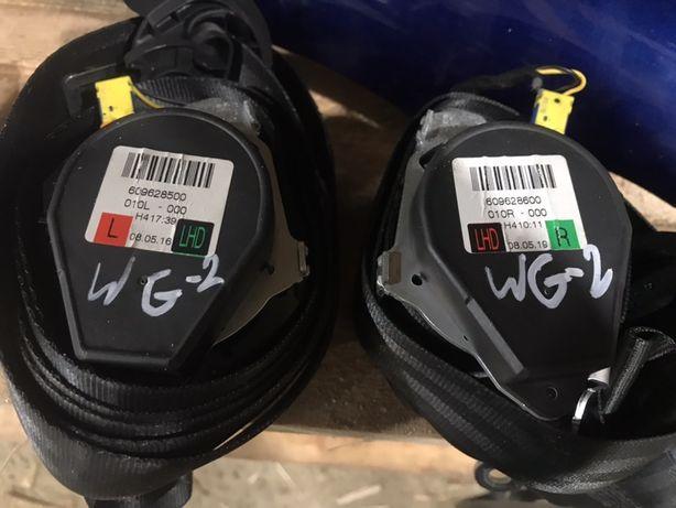 Ремні безпеки гольф 5,6 ремни безопасности розборка шрот запчасти