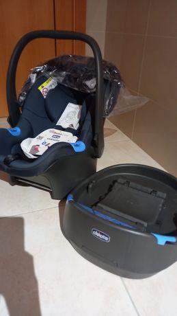 Cadeira bébé Auto Oasys 0+ up Chicco (nova)
