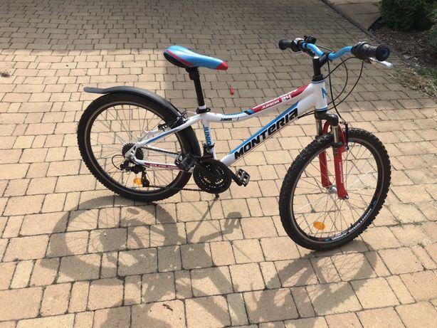 Rower junior Monteria 24 cale rama aluminium