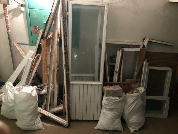 Вывоз строительного мусора, старой мебели, хлама.