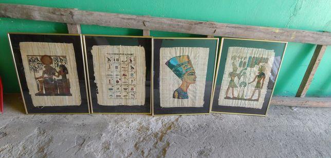Obrazy 40x50 papirusy